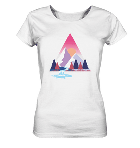 Mountains and River Day - Ladies Organic Shirt