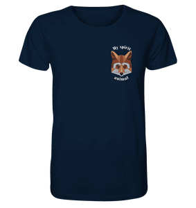 Spirit Animal Fox - Herren Organic Shirt