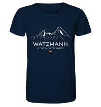 Laden Sie das Bild in den Galerie-Viewer, Watzmann - Herren Organic Shirt