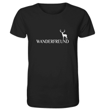 Laden Sie das Bild in den Galerie-Viewer, Wanderfreund - Herren Organic Shirt
