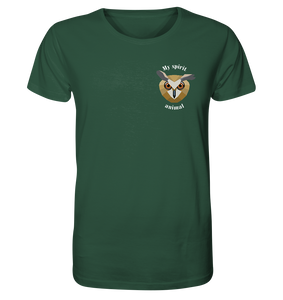 Spirit Animal Owl - Herren Organic Shirt