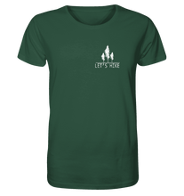 Laden Sie das Bild in den Galerie-Viewer, Let's Hike - Herren Organic Shirt