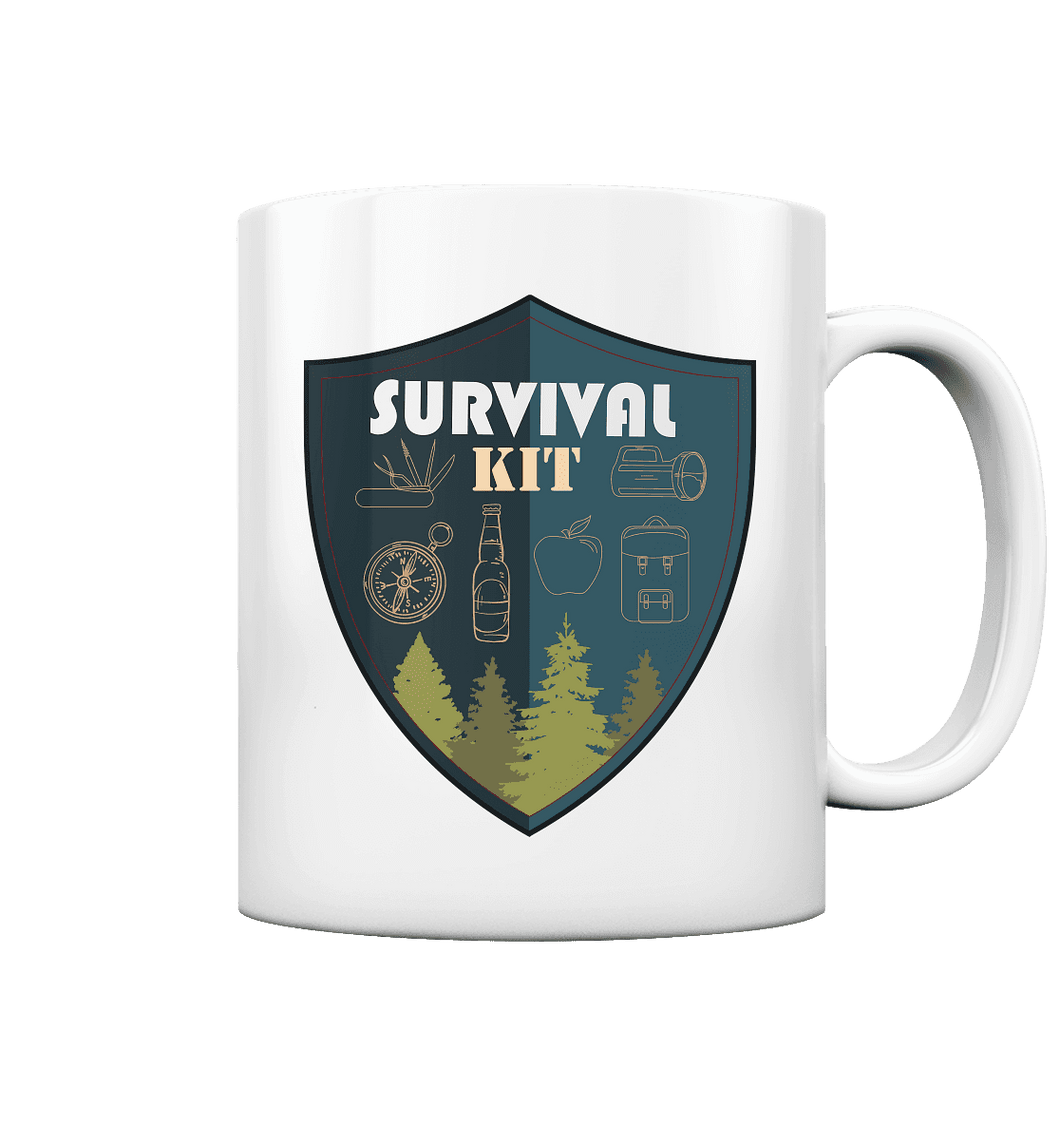 Survival Kit - Keramik-Tasse
