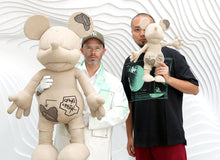 Load image into Gallery viewer, Daniel Arsham - Mickey Mouse Canvas Plush