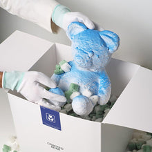 Load image into Gallery viewer, Daniel Arsham - Cracked Bear (Blue)