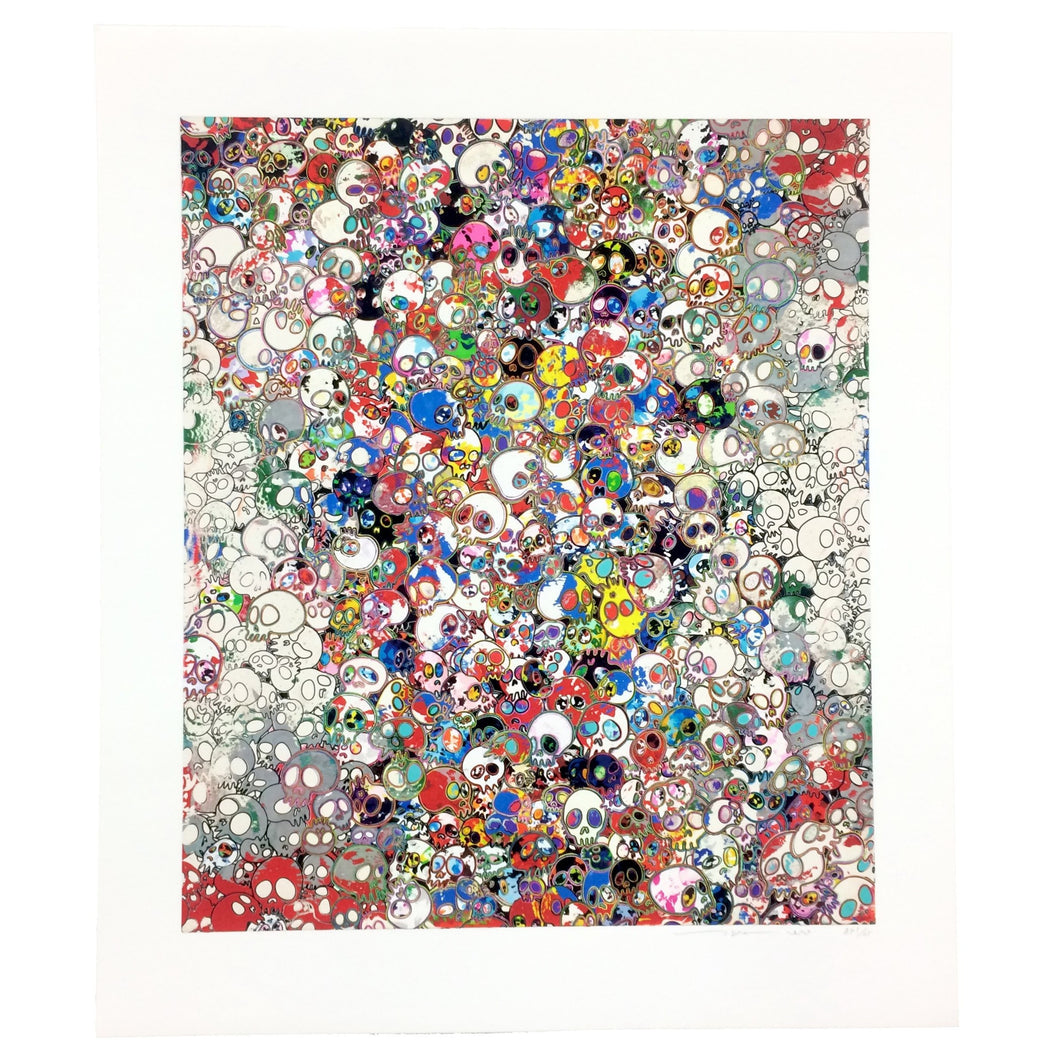 Takashi Murakami - A Fork in the Road, 2020