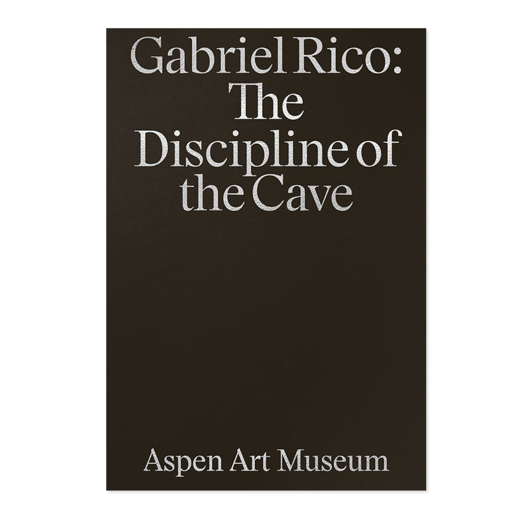 Gabriel Rico - Discipline of the Cave (Available Signed)