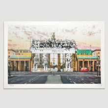 Load image into Gallery viewer, JR - Giants, Brandenburg Gate, September 27, 2018, 18h55, © Iris Hesse, Ullstein Bild, Roger-Viollet, Berlin, Germany, 2018