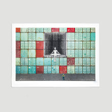 Load image into Gallery viewer, JR - In the Container Wall, Le Havre, France 2014