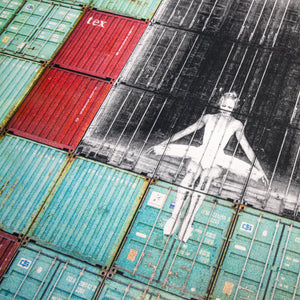 JR - In the Container Wall, Le Havre, France 2014