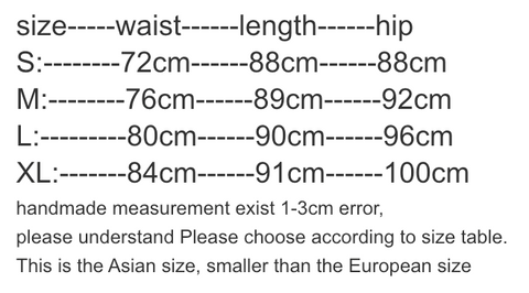 tapered stone washed denim measurement chart