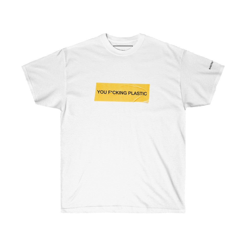 Rad by Radgang Environmental Message Oversized Graphic Tee