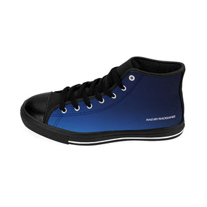 Gradient High Top Designer Canvas Shoes Rad by Radgang