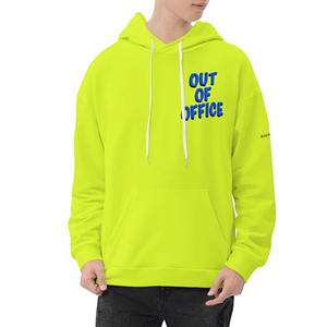 Open image in slideshow, Oversized Graphic Neon Unisex Hoodie Rad by Radgang
