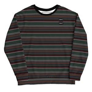Open image in slideshow, SKATE-EASY DAILY LOOSE FIT SWEATSHIRT - STRIPES