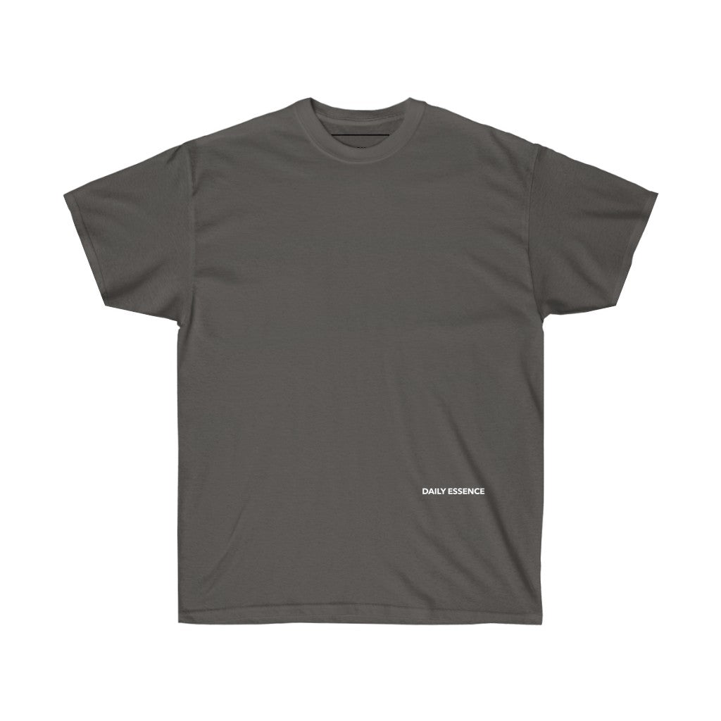 DAILY ESSENCE BASIC TEE - CHARCOAL