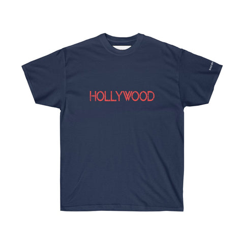 HOLLYWOOD ULTRA TEE - NAVY/ WHITE