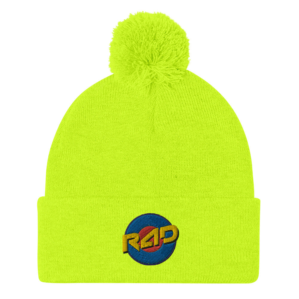 TARGET POM-POM BEANIE - MULTIPLE COLOR