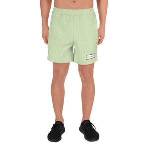 Open image in slideshow, HIDDEN MONOGRAM SPORT SHORTS - ARMY IRIDESCENT