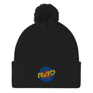 Open image in slideshow, TARGET POM-POM BEANIE - MULTIPLE COLOR