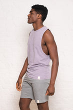 Load image into Gallery viewer, sleeveless stonewash lilac