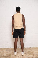Load image into Gallery viewer, sleeveless + shorts: tan and black bundle