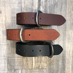 BELT LEATHER COUNTRY LEATHER 1 1/2'