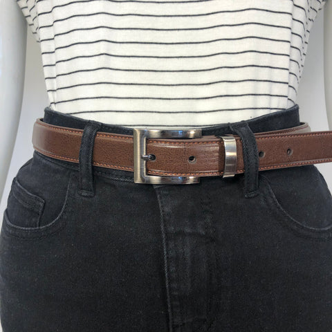 BELT SKINNY COUNTRY LEATHER