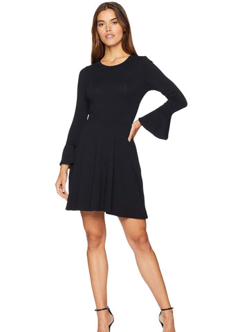 LA Made Bell-Sleeved Dress