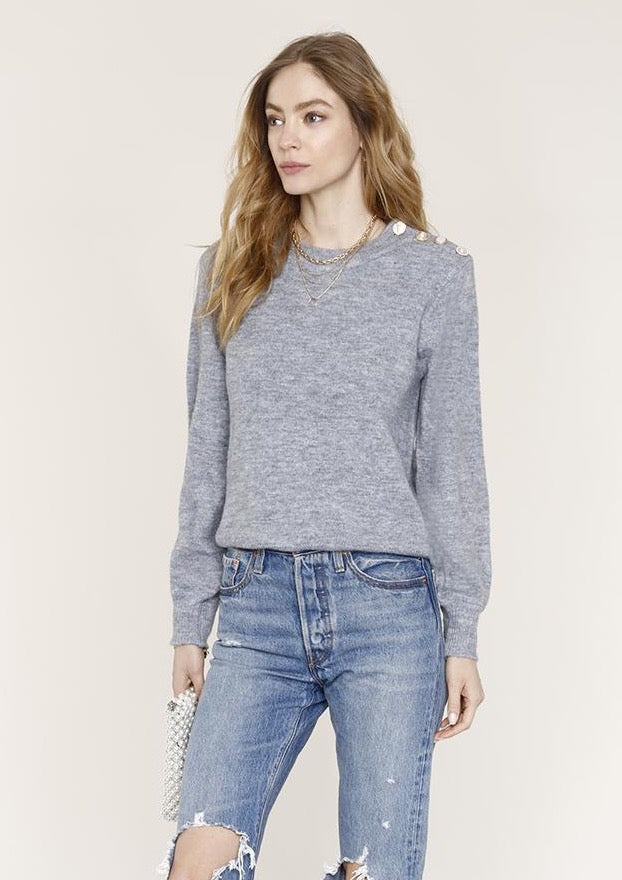 Heartloom Doreen Gray Sweater - Only 1 Small left!