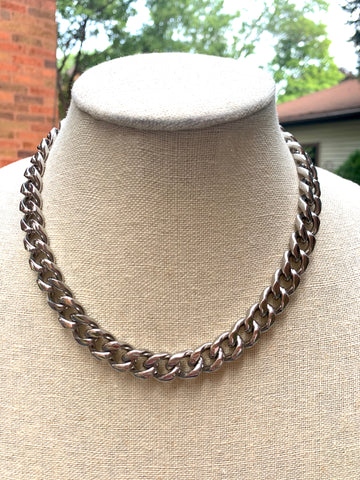 Thick Chain Link Necklace