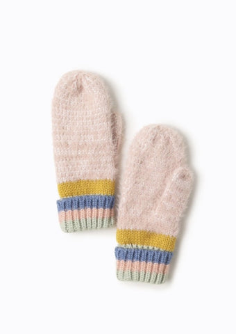 Look by M Color Block Mittens