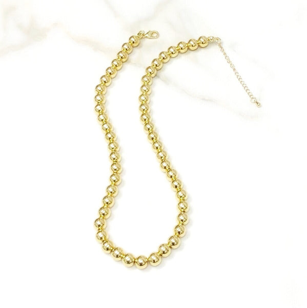 8mm Ball Necklace