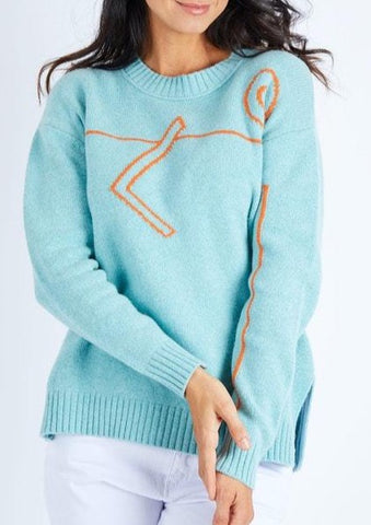 Zaket & Plover Love Sweater