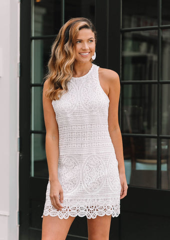 Bishop + Young Crochet Dress