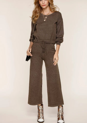 Heartloom Evie Wide Leg Knit Pants
