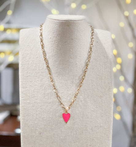 Iishii Heart Pendant Necklace