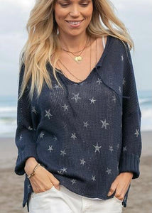 Wooden Ships Mini Starfish Cotton Sweater