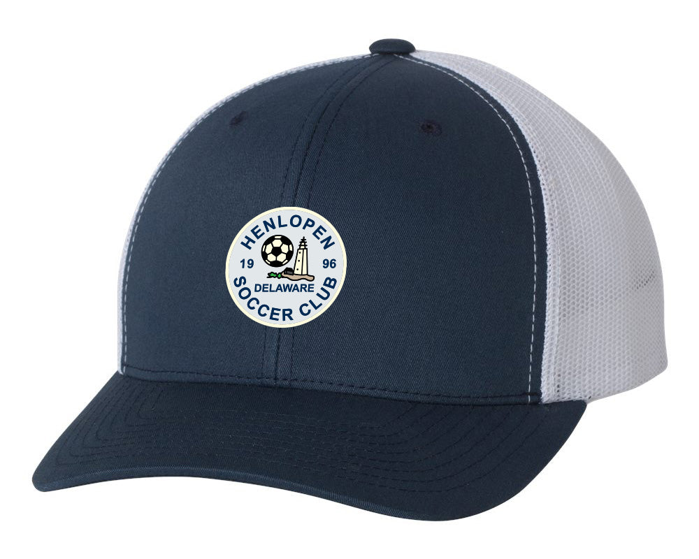 Henlopen Soccer Club Trucker Hat (Adjustable)