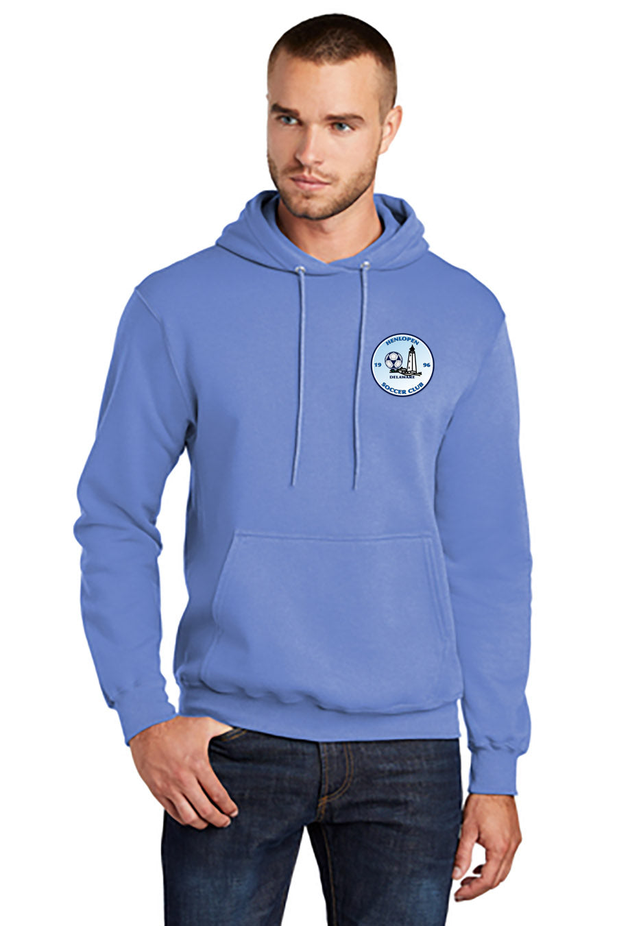 Henlopen Soccer Club Pullover Hooded Sweatshirt