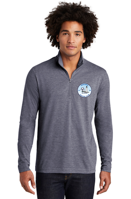 Sport-Tek ® PosiCharge ® Tri-Blend Wicking 1/4-Zip Pullover (Men's)