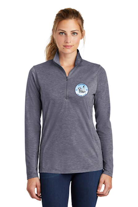 Sport-Tek ® PosiCharge ® Tri-Blend Wicking 1/4-Zip Pullover (Women's)