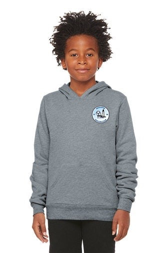 Bella+Canvas ® Youth Sponge Fleece Pullover Hoodie (Unisex)