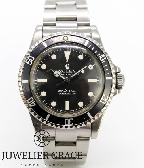Rolex Submariner No Date Vintage Big Crown 1978