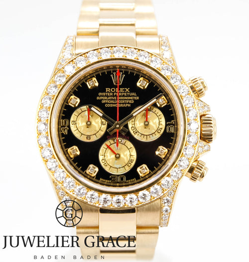 DAYTONA 18K GOLD DIAMONDS