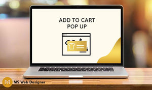 Add to Cart Popup