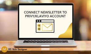 Connect Newsletter to Privy/Klaviyo Account