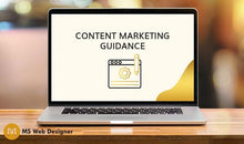 Load image into Gallery viewer, Content marketing guidance