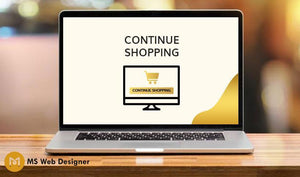 Continue Shopping on Cart Page