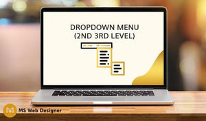 Drop down menu (2nd 3rd level )